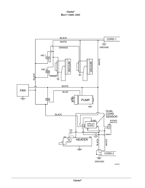 small resolution of bext 150h extractor wiring diagram 120v pump clarke bext 300hv wiring lighted doorbell button clarke wiring diagram