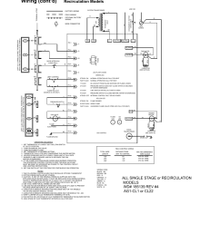 4 wiring diagrams 0 electrical supply and wiring cont d page 18 reznor udas unit installation manual user manual page 18 40 [ 954 x 1235 Pixel ]