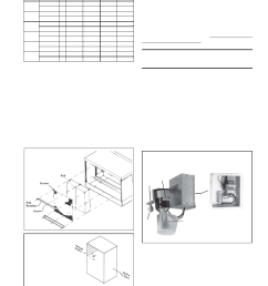 optional dampers and controls see wiring diagram supplied with unit instructions for replacing media pads reznor xe unit installation manual user  [ 954 x 1235 Pixel ]