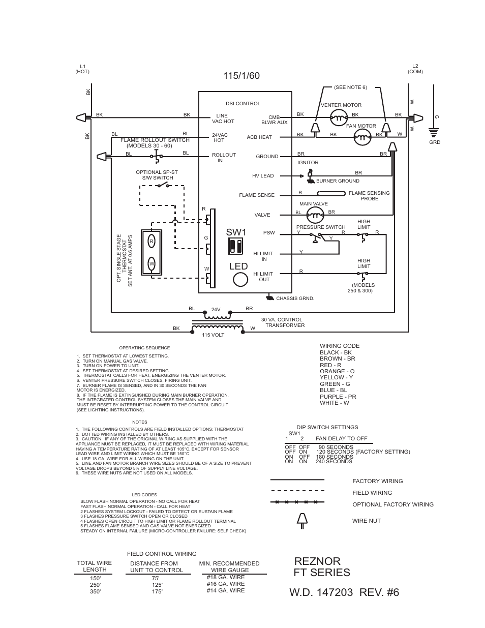 reznor ft unit installation manual page13 reznor furnace wiring diagram reznor wiring schematic oil pump Reznor F100 Wiring Diagram at crackthecode.co