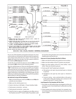 Figure 5 eaid4  d6 ( dual radio ) wiring diagram
