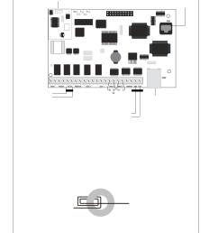ferrite bead installation figure 6 ipdact 2 and ipdact 2ud wiring figure 7 ferrite bead installation silentknight ip communicator user manual page 8  [ 954 x 1235 Pixel ]