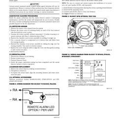 Duct Smoke Detector Wiring Diagram 1972 Nova Harness Ra Remote Alarm Led Option 1 Per Unit Silentknight Sk Addressable Photoelectric User Manual Page 5 6