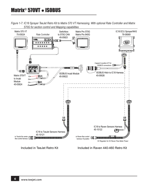 small resolution of matrix 570vt isobus teejet matrix 570vt software version 1 00 user manual page
