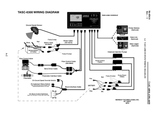 Tasc6300 wiring diagram | TeeJet TASC6600 User Manual