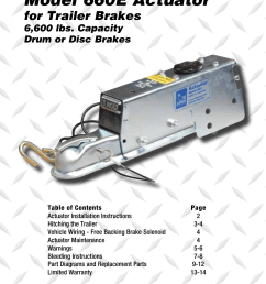 model 660e actuator for trailer brakes installation instructions tie down actuator wiring diagram [ 954 x 1475 Pixel ]