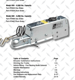 installation instructions and service manual tie down 850e user input module wiring diagram tie down actuator wiring diagram [ 954 x 1475 Pixel ]
