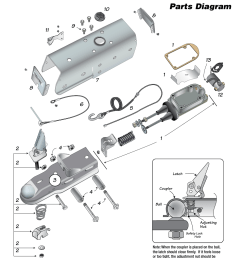 model 80 80e trailer actuator parts diagram tie down 80e actuator user manual page 4 8 [ 954 x 1235 Pixel ]