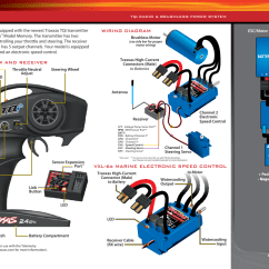 Two Battery Wiring Diagram Canine Skull Diagram, Vxl-6s Marine Electronic Speed Control | Traxxas 5709l User Manual Page 11 / 30