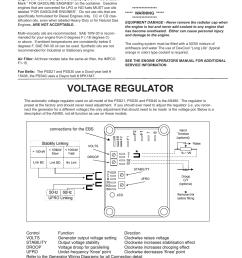 voltage regulator automatic voltage regulator avr winco ulpss40 i with dse 7310 engine control 2014 user manual page 19 24 [ 954 x 1235 Pixel ]