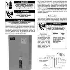 Asco Wiring Diagram Gfci Receptacle 8210g95 120v Library 165 Transfer Switch Data U2022 Rh Chamaela Co Schematic