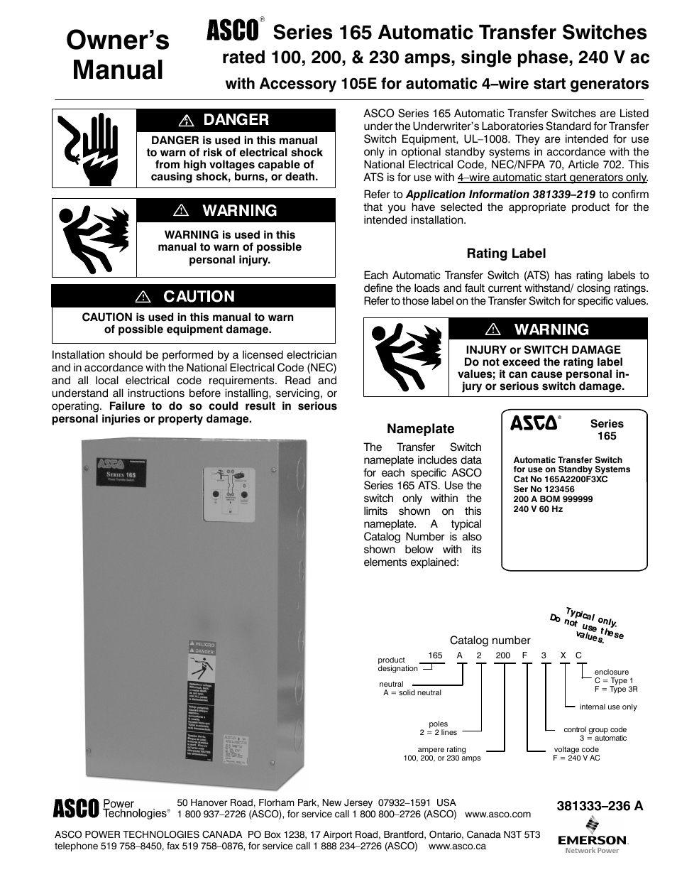 asco 7000 wiring diagram klf 300 c diagrams data 8210g95 120v library guitar 165 transfer switch