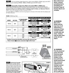 installation instructions cadet the register plus rm108 user manual page 3 8 [ 954 x 1235 Pixel ]