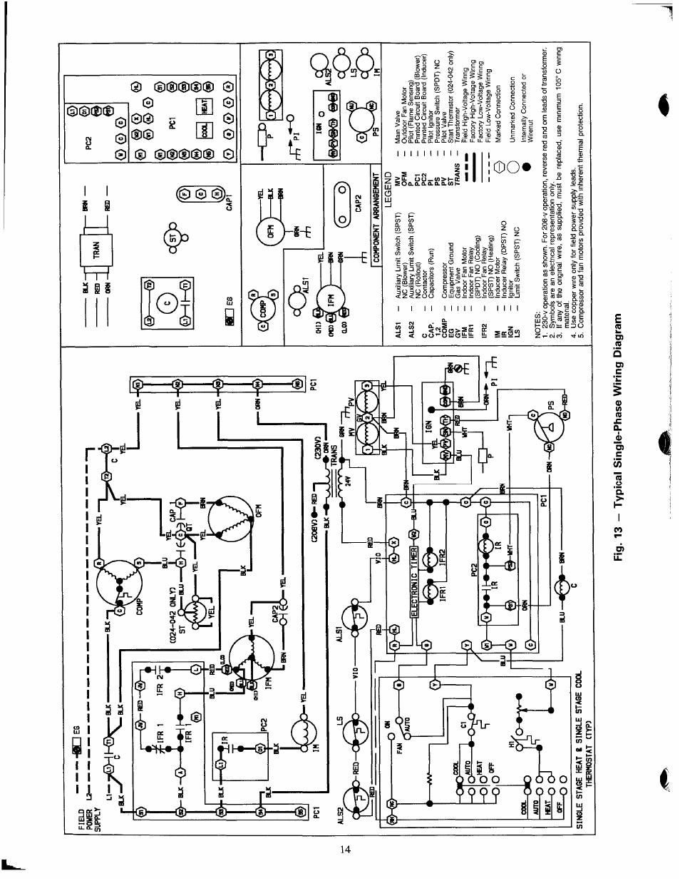 [DIAGRAM] Basic Hvac Indoor Blower Fan Capacitor Wiring