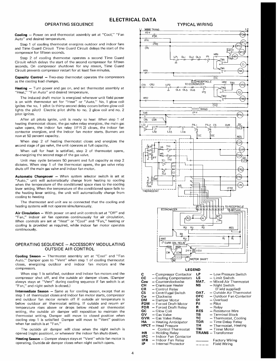Trane Economizer Wiring Diagram Crankcase Heater Auto Diagrams