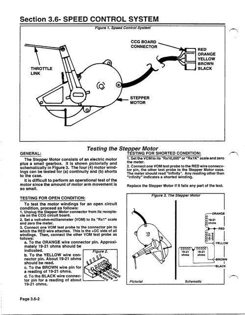 small resolution of testing the stepper motor generac power systems np 40g user manual page 66 126