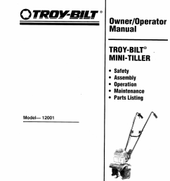 troy bilt tiller engine diagram [ 954 x 1246 Pixel ]