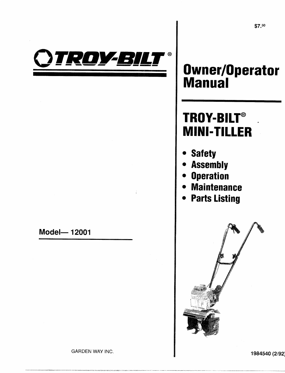 hight resolution of troy bilt tiller engine diagram