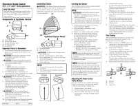 Tekonsha Voyager User Manual | 6 pages