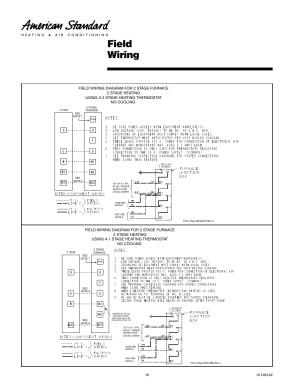 Field wiring | American Standard Freedom 80 User Manual | Page 18  24
