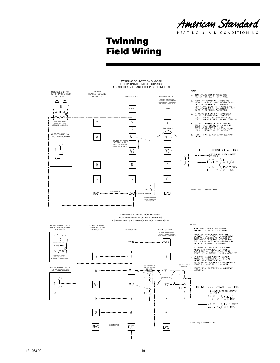 medium resolution of twinning field wiring american standard freedom 80 user american standard electric furnace wiring american standard air