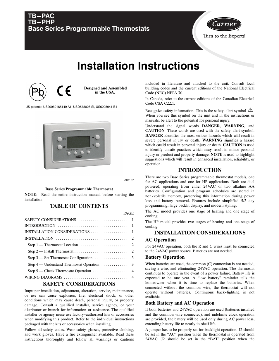 medium resolution of carrier digital thermostat wiring diagram
