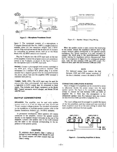 small resolution of caution bogen challenger solid state series c10 user manual page 2 4