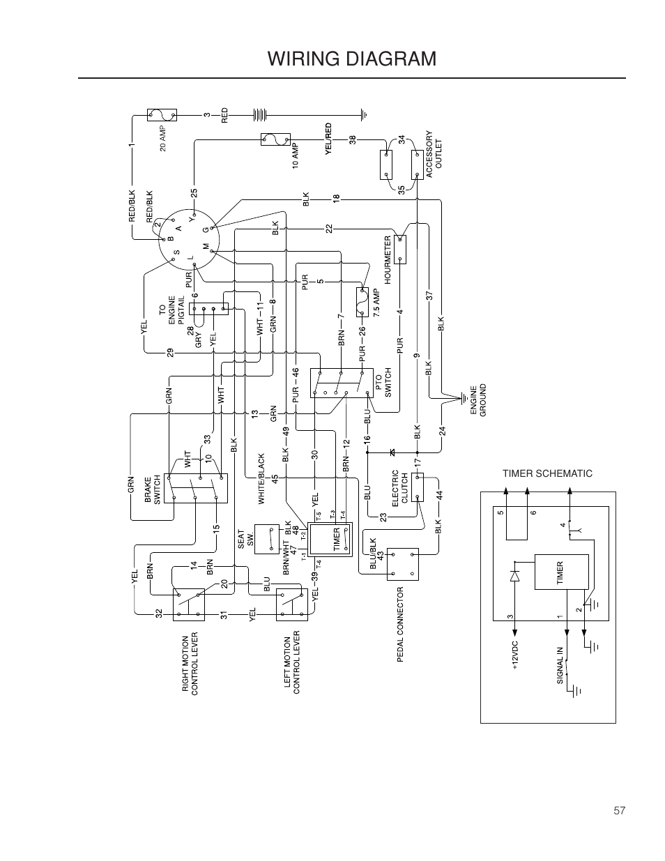 hight resolution of wiring diagrams wiring diagram dixon grizzly se 966516601 user manual page 57