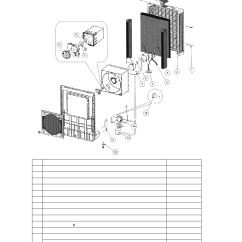 Ge Motor Wiring Diagram Bosch Relay For Horn Parts List | Bonaire Durango Window Cooler User Manual Page 16 / 24
