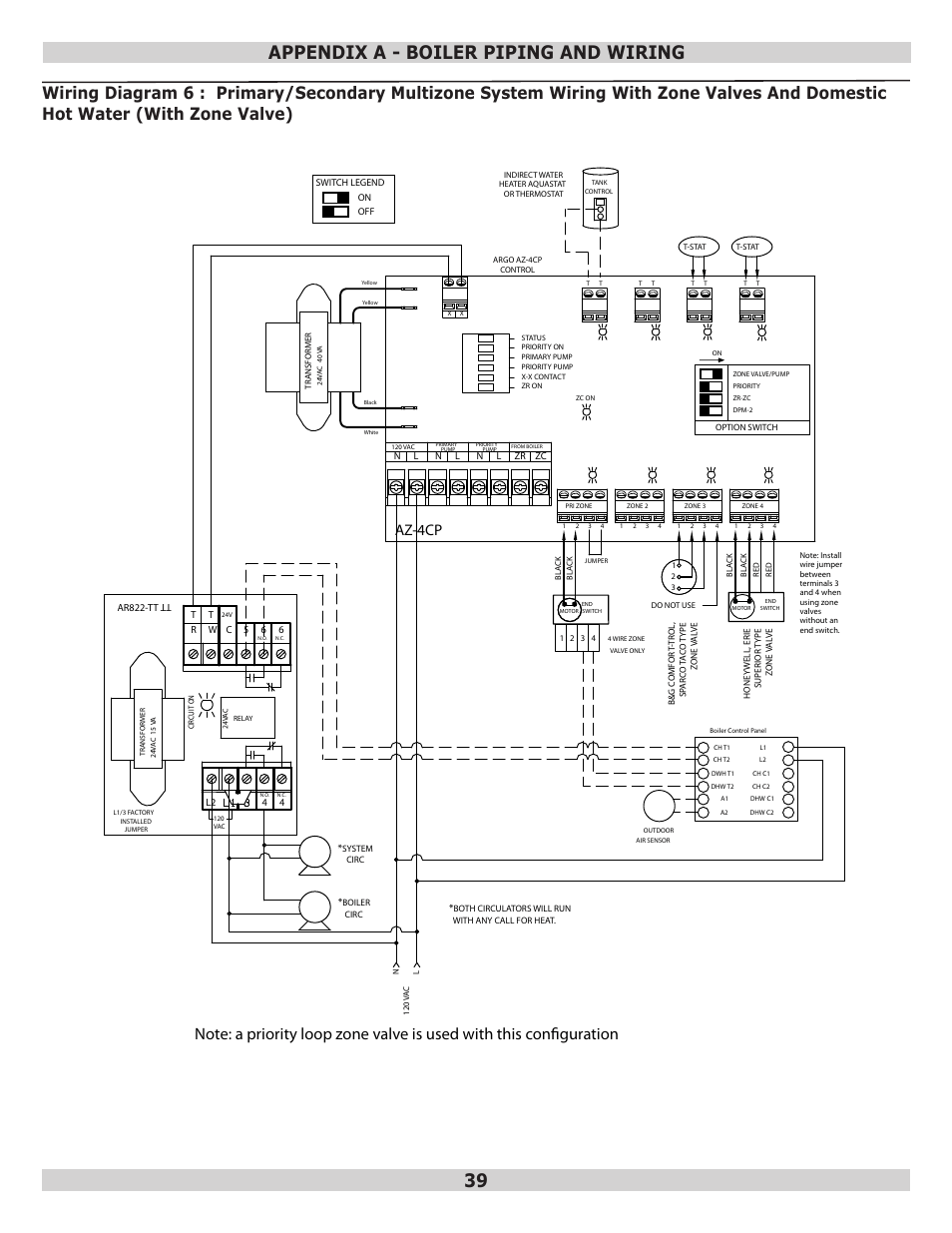 hight resolution of appendix a boiler piping and wiring 39 az 4cp dunkirk q95m
