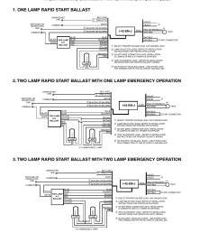 typical wiring diagrams page 4 2lrsb42j ac two lamp rapid start rapid start wiring diagram [ 954 x 1235 Pixel ]