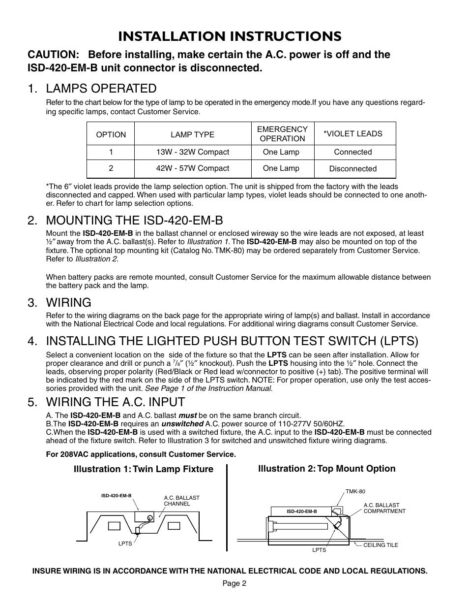 iota isd 420 em b page2?resize=665%2C861 iota i 80 emergency ballast wiring diagram wiring diagram iota i 80 emergency ballast wiring diagram at panicattacktreatment.co