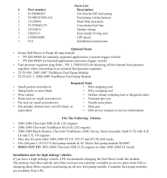 lingenfelter l710111005 trailblazer ss ssr e85 high flow fuel pump upgrade kit v1 5 user manual page 2 10 [ 954 x 1235 Pixel ]
