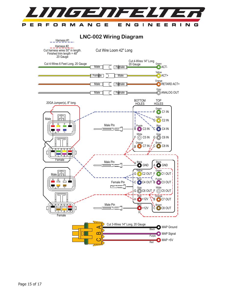 medium resolution of ab c lnc 002 wiring diagram cut wire loom 42 long