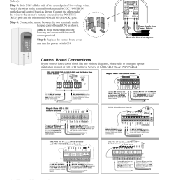 test keypad control board connections status program calling granted mighty mule fm136 user manual page 4 8 [ 954 x 1235 Pixel ]