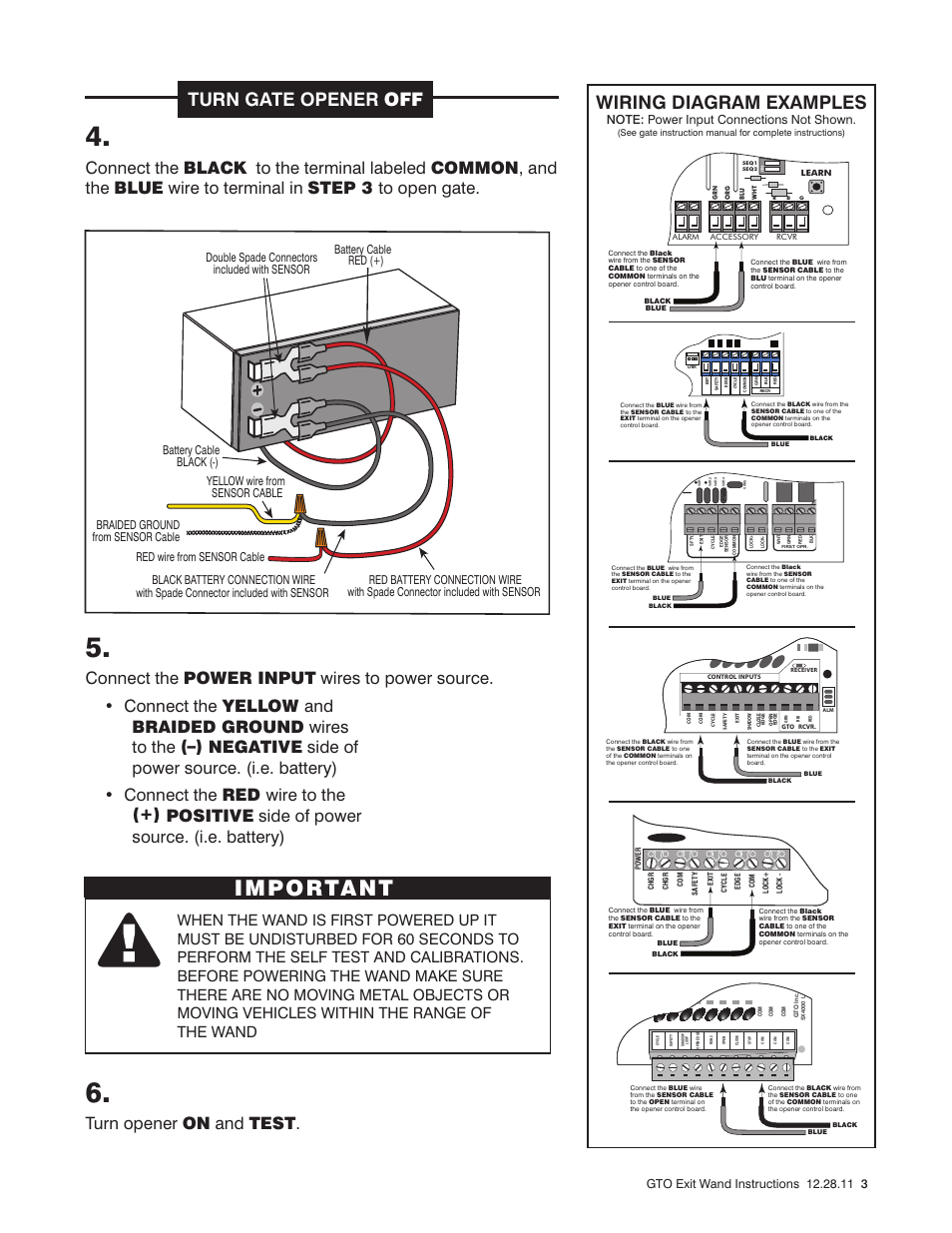 hight resolution of important turn gate opener off wiring diagram examples mighty generic wiring diagram important