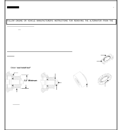 remy replacing 50dn alternator shaft seal and o ring user manual 2 pages [ 954 x 1235 Pixel ]