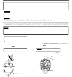 remy 24si alternator user manual 2 pages 24si alternator wiring diagram [ 954 x 1235 Pixel ]