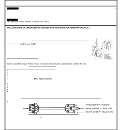remy replacing delco remy 24si alternatators user manual 2 pages also for replacing delco remy 23si alternatators replacing delco remy 22si  [ 954 x 1235 Pixel ]