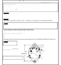 remy 28si alternator user manual 6 pages also for 24si alternator wiring diagram delco  [ 954 x 1235 Pixel ]
