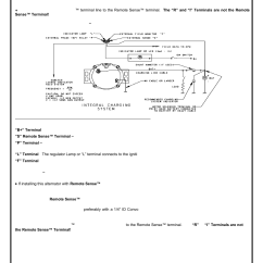Delco Remy Alternator Diagram Single Phase Electric Motor Starter Wiring 7si Manual E Books