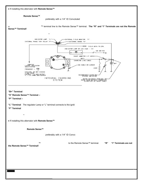 small resolution of remy 28si alternator user manual page 3 6 also for 24si alternator