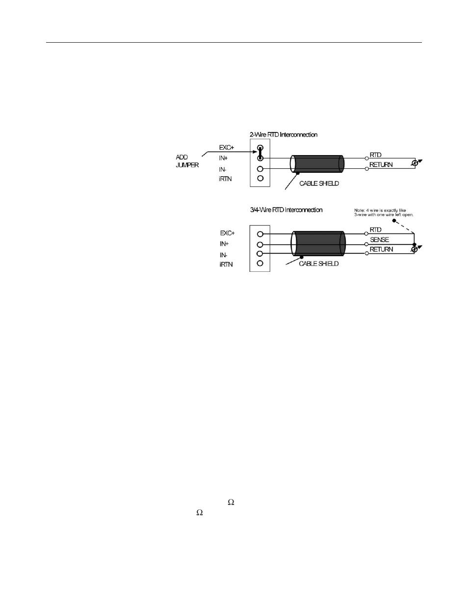 medium resolution of 4 wire rtd wiring