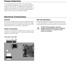 freeze detection electrical connections general waterfurnace versatec base user manual page 16 56 [ 954 x 1235 Pixel ]