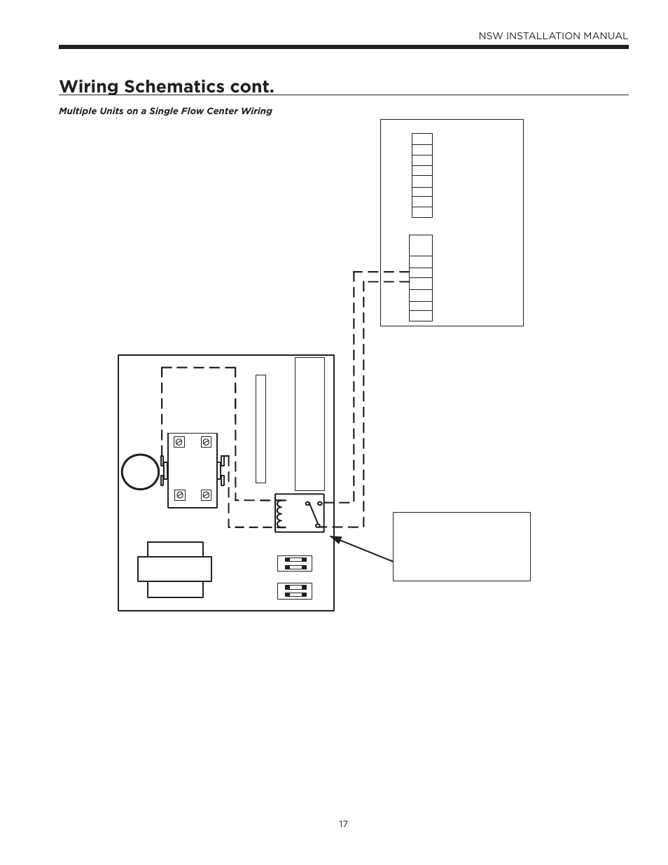 medium resolution of wiring schematics cont nsw installation manual waterfurnace water furnace wiring diagram