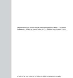 pmx system overview quick start guide operating manual and user guide wharfedale pro pmx 710 user manual page 16 28 [ 954 x 1350 Pixel ]
