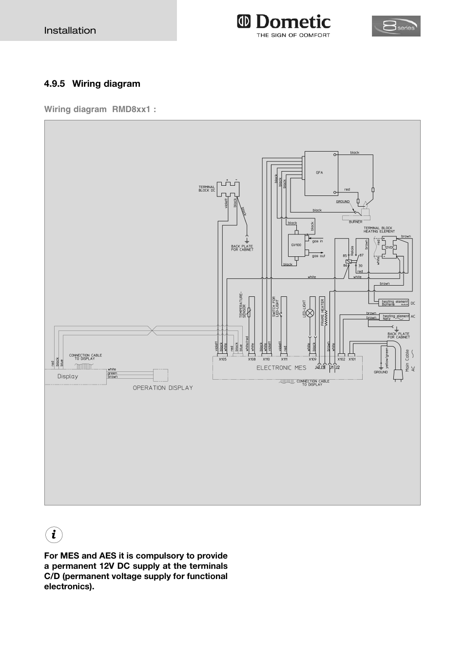 dometic ccc2 thermostat wiring diagram kenwood excelon ddx8017 and schematics 27 images