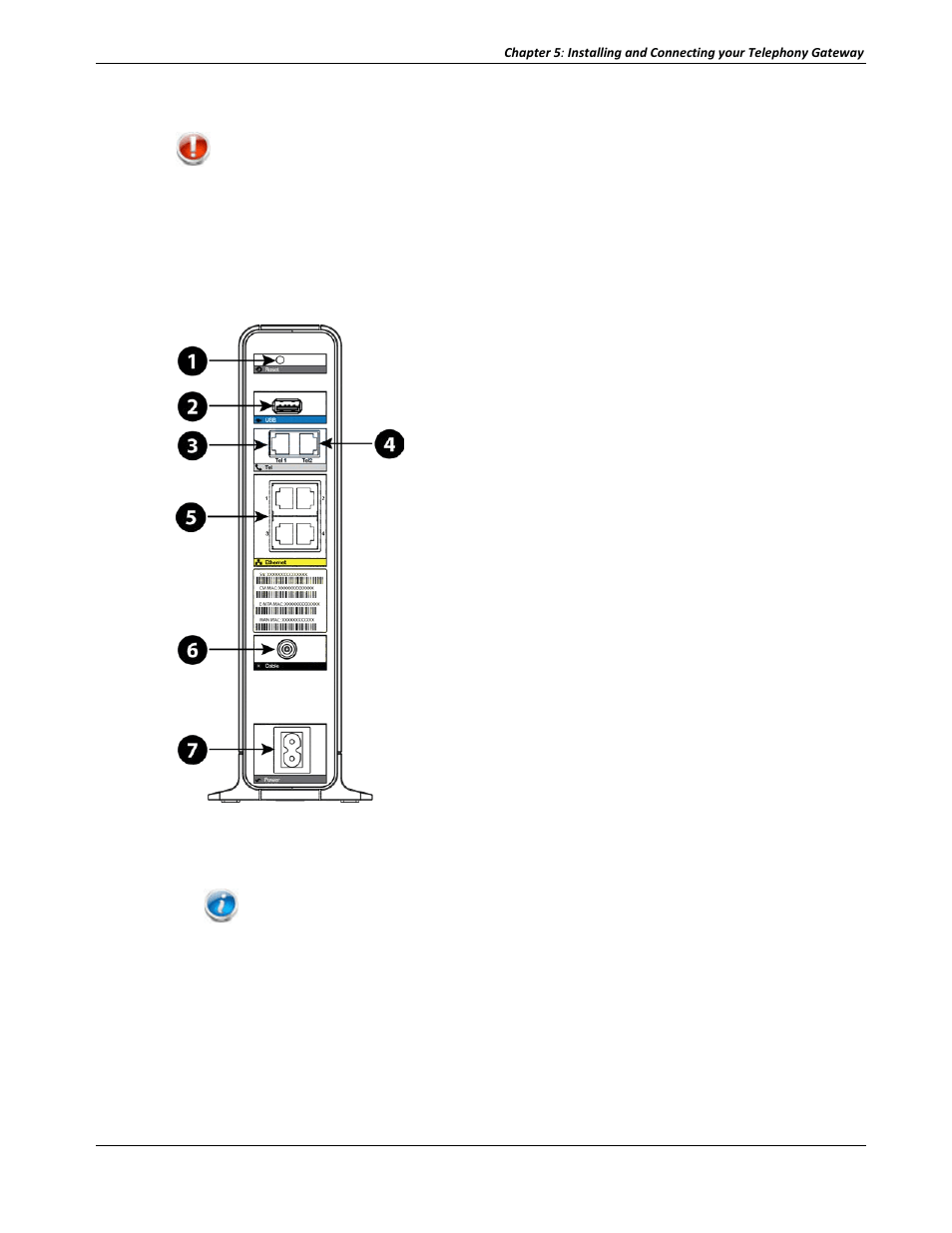 medium resolution of connecting the telephony gateway arris tg2472g na user guide user manual page 25 44