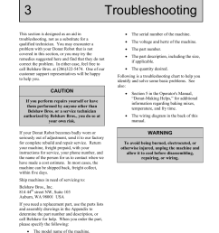 3 troubleshooting belshaw adamatic mark ii gas donut robot user manual page 49 [ 954 x 1235 Pixel ]