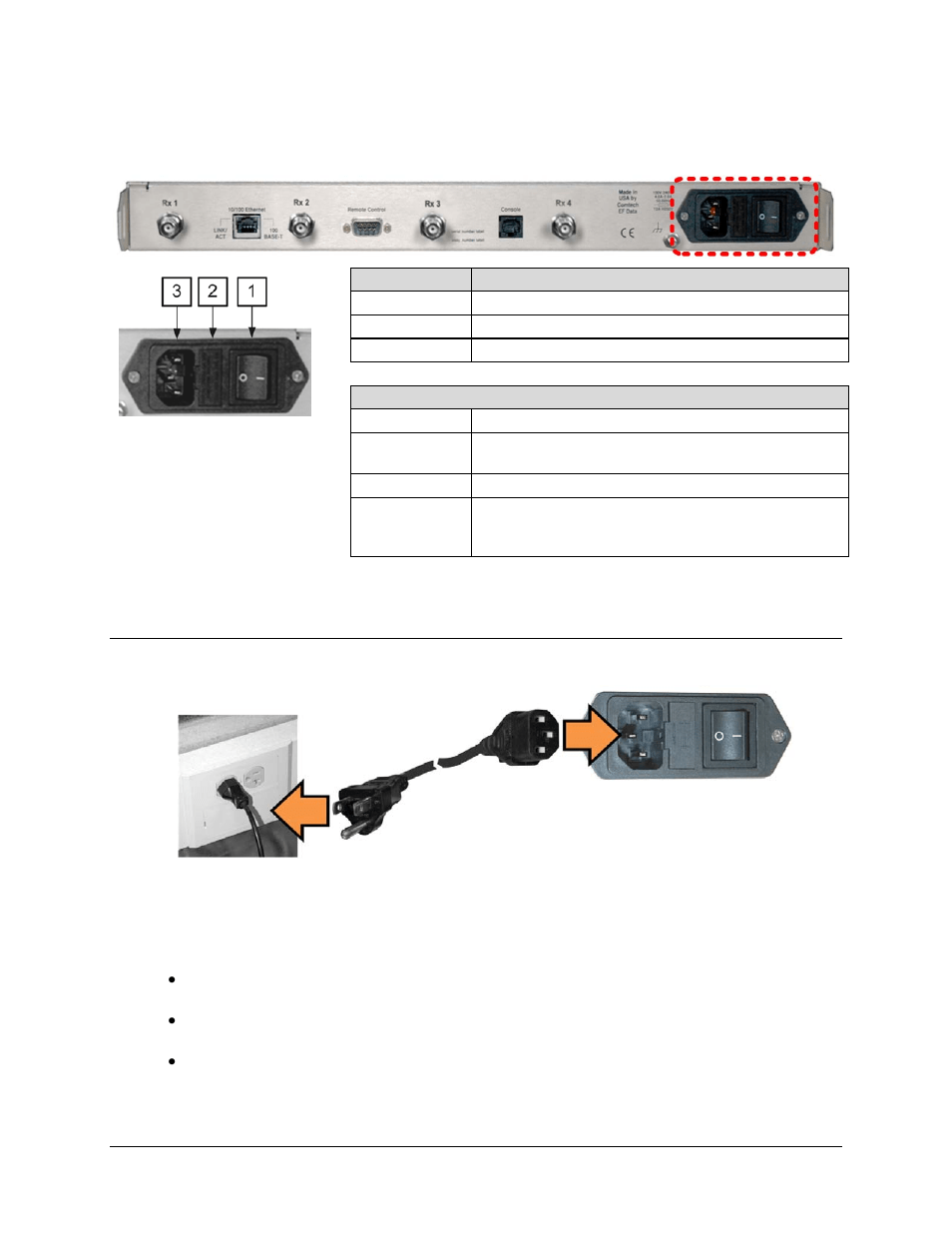 hight resolution of 1 ac operation applying power comtech ef data cdd 562l user manual page 53 254